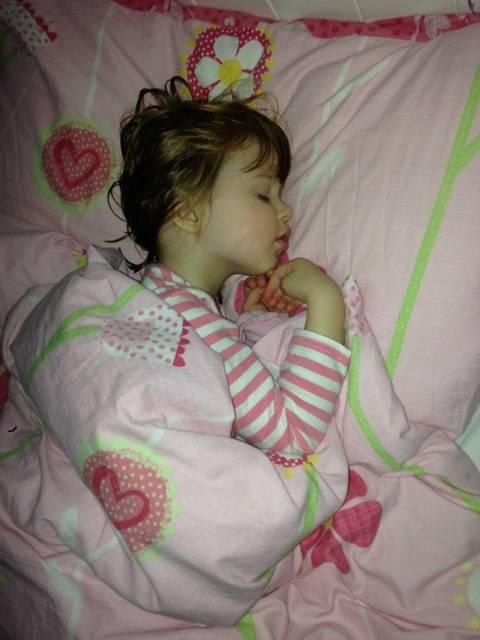 My sleeping beauty