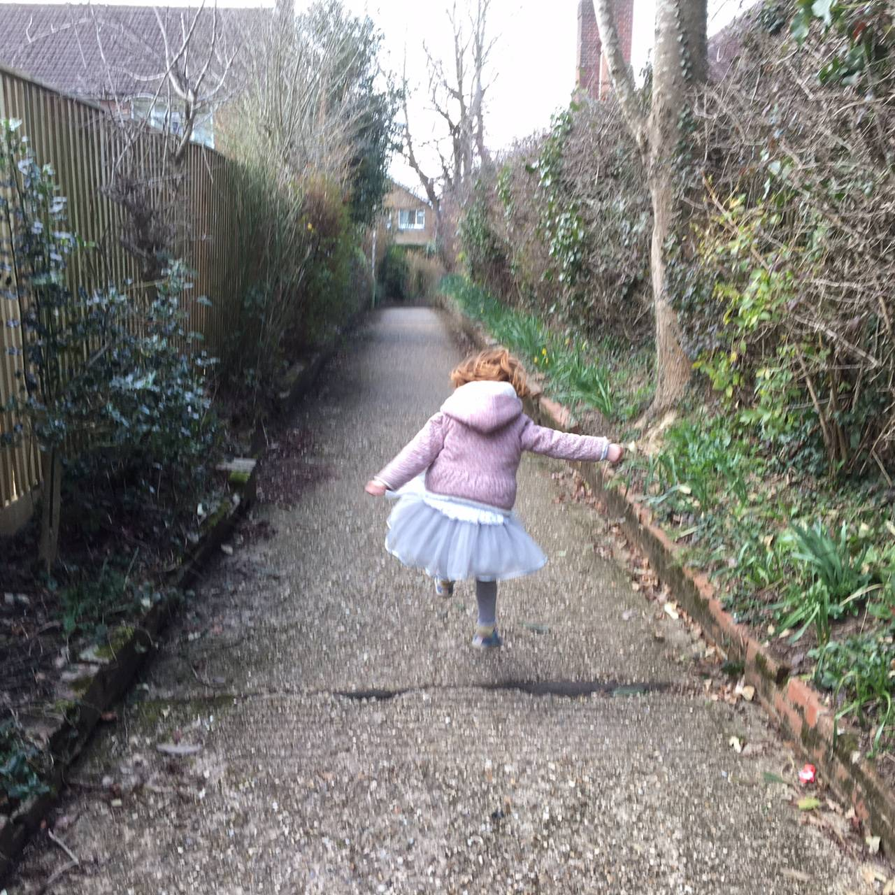 Alice jumping