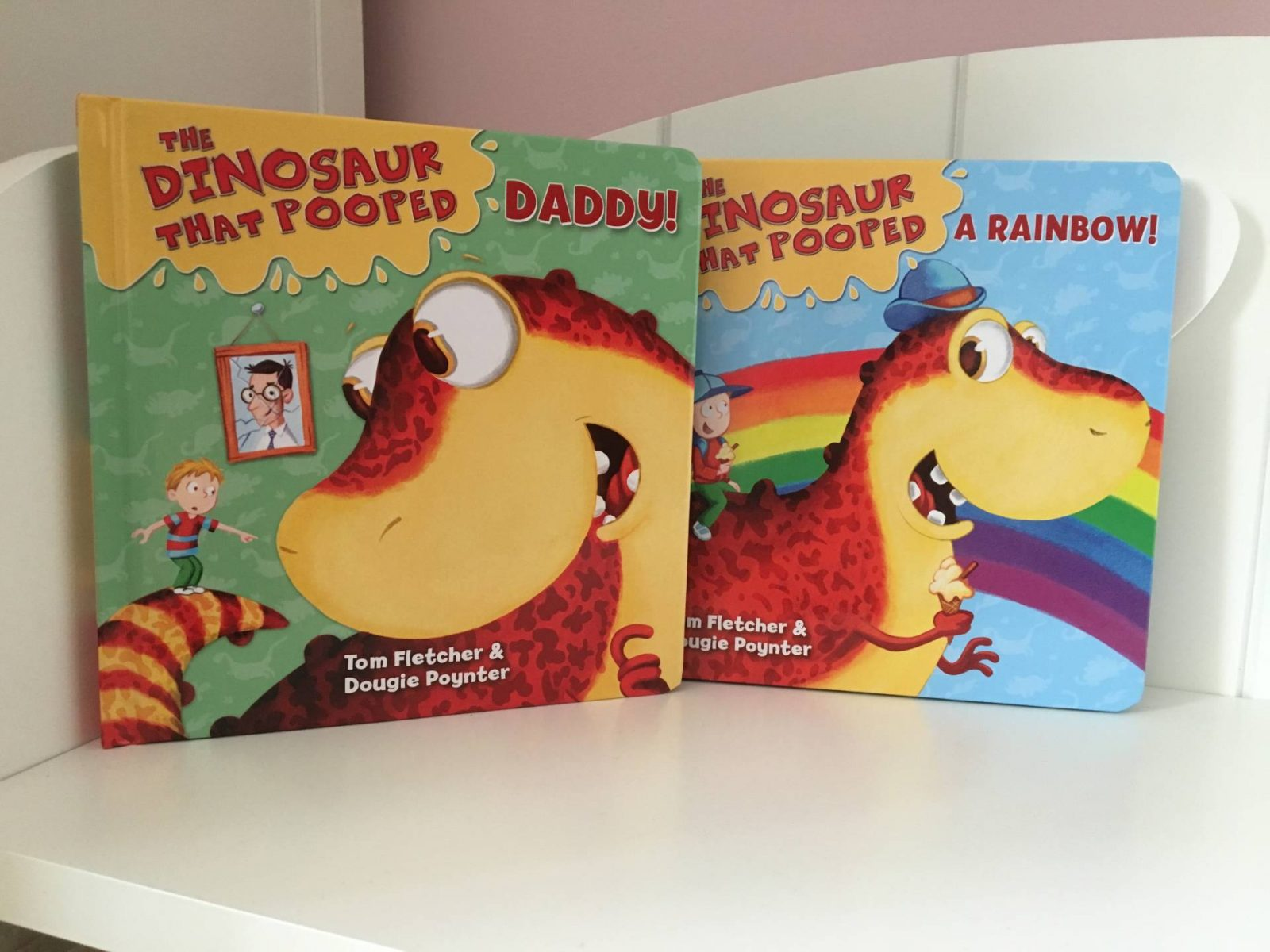 Review: The Dinosaur That Pooped Books…The McFly Boys!