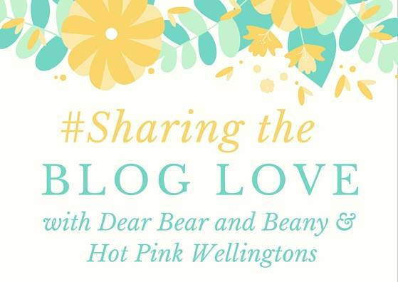 Sharing The Blog Love…#85