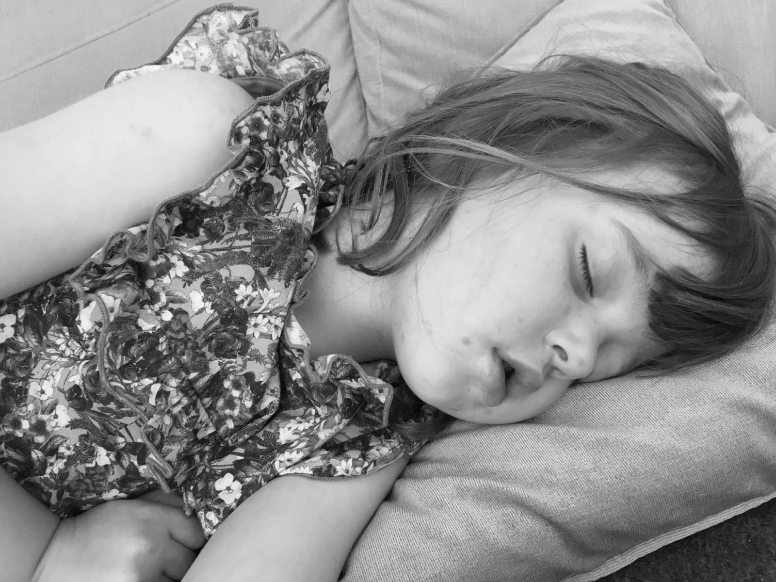 Spotty Girl-asleep