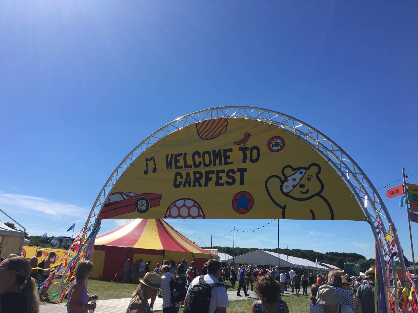 Our First Family Festival…CarFest!