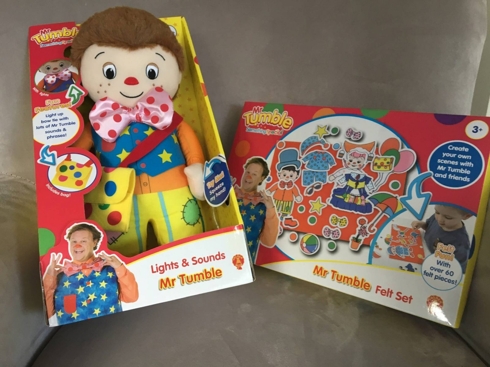 Review: Mr Tumble Lights and Sounds and Felt Set…