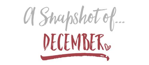 A Snapshot of December…