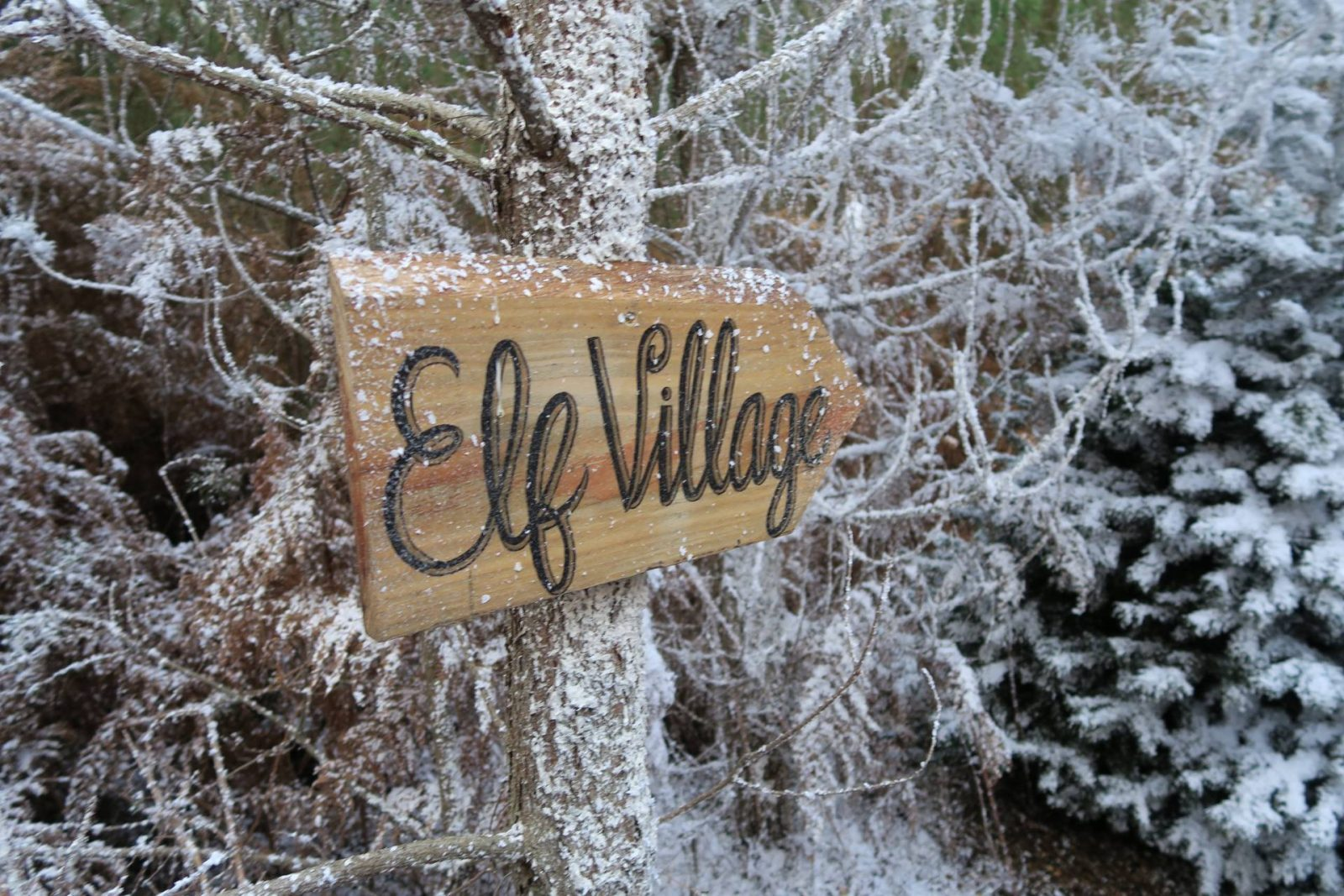 elf-villagesign