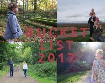 Our 2017 Bucket List…November Update