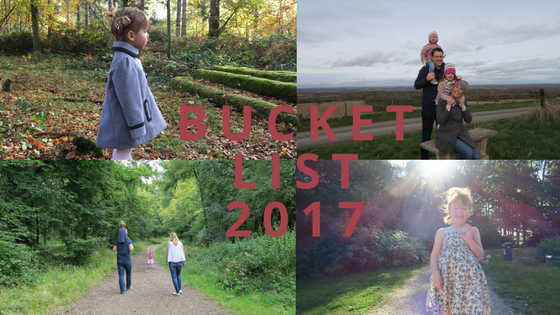 Our 2017 Bucket List…How Did We Do!