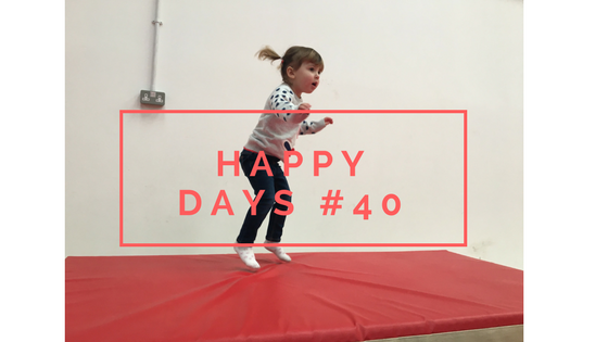 Parties, Milestones and Dinner Out…Happy Days #40