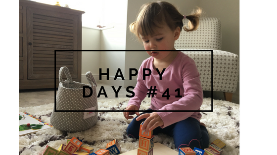 Simple Things, Playdates, and Making our House a Home…Happy Days #41
