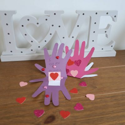 The Kissing Hand Pop-Up Card…Crafts for Valentine's Day!