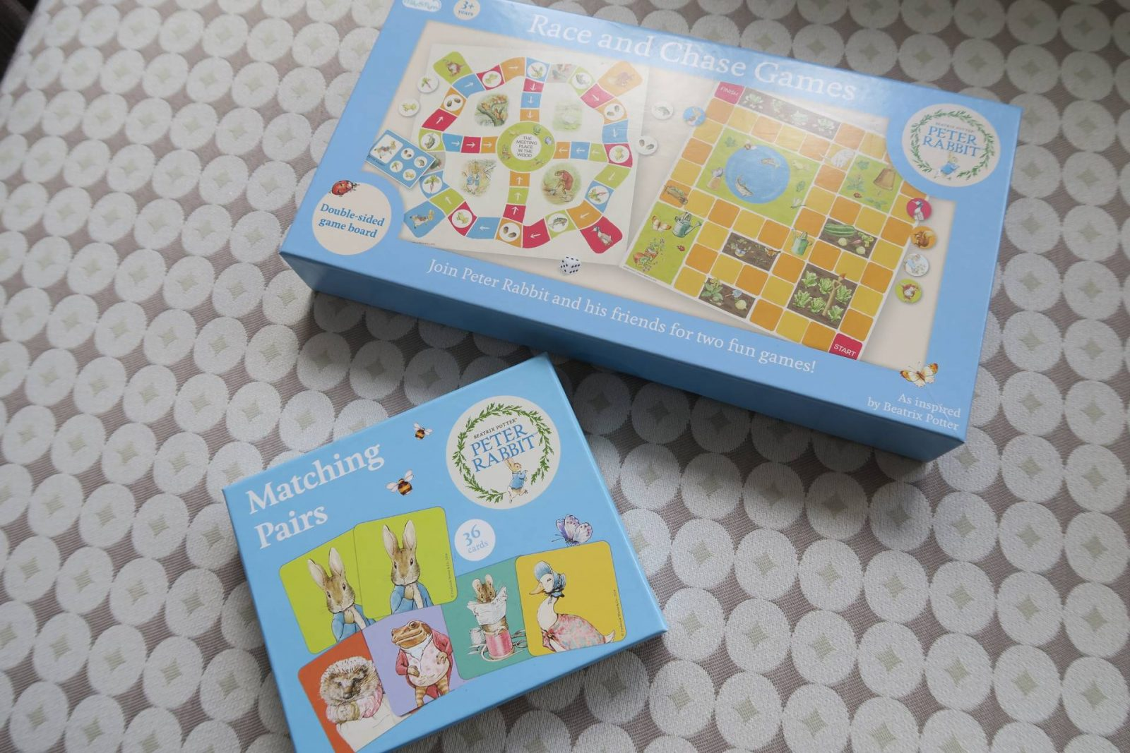 Review: Peter Rabbit Race and Chase Games    - dear bear and