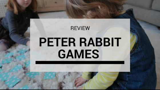 Review: Peter Rabbit Race and Chase Games…