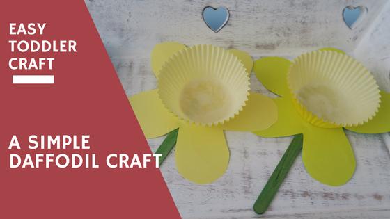 A Simple Daffodil Craft…