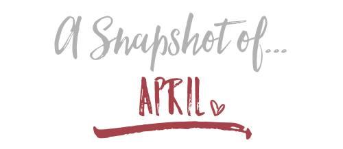 A Snapshot of…April 2017
