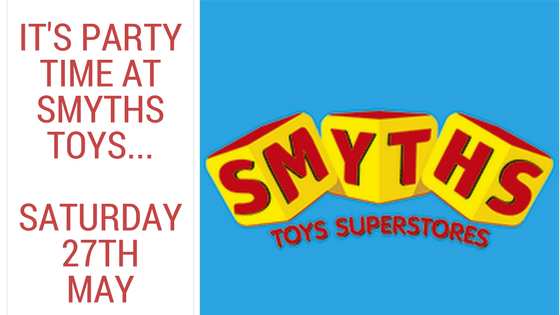 Come And Have Fun At Smyth's Toys Superstores This Bank Holiday…