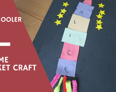 A Name Rocket Craft For Preschoolers…