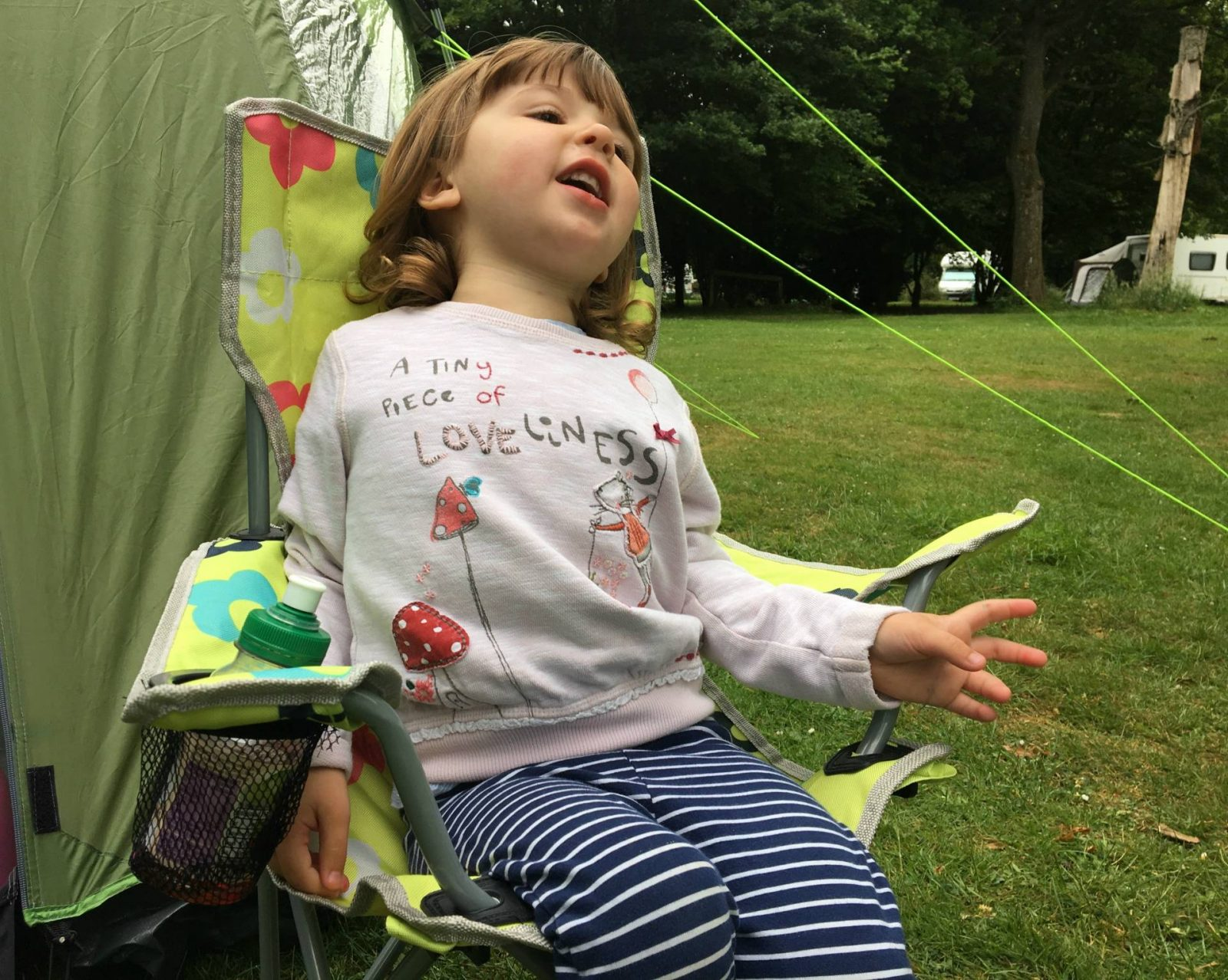 Surviving Our First Family Camping Trip…Home From Home!