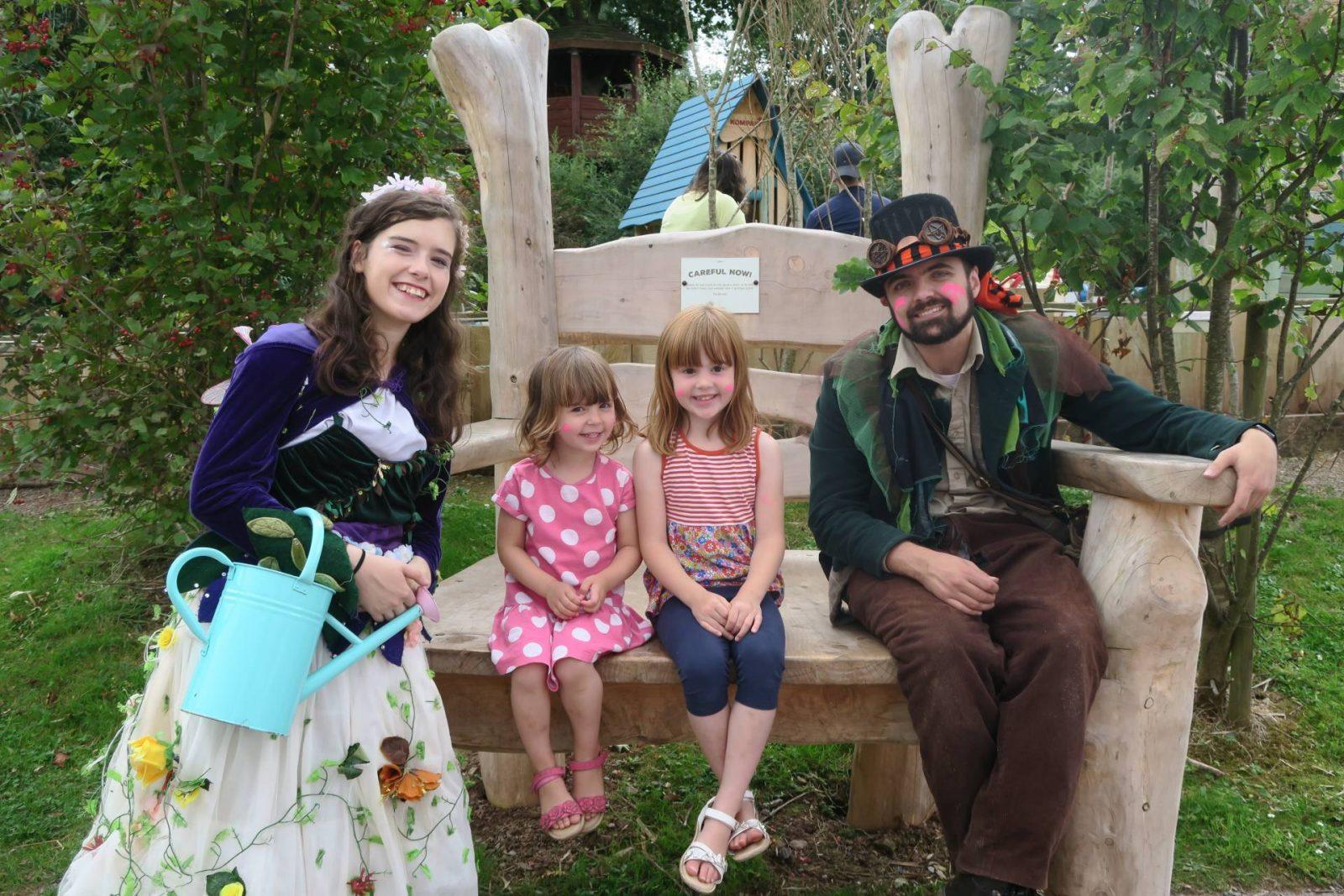 Sprinkling Some Magic At Bluestone's Secret Fairy Village…