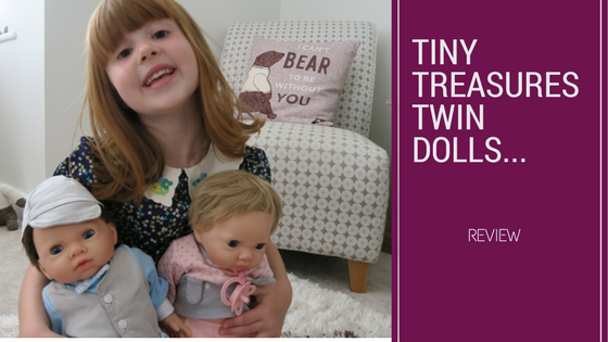 The Day Tiny Treasures Twin Dolls Came Home With Us…