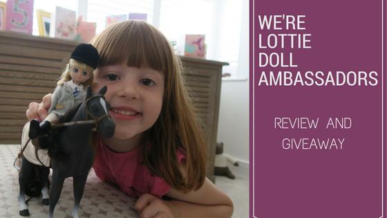 We're Lottie Doll Ambassadors…