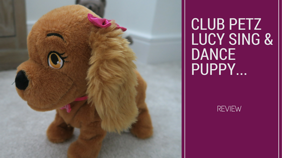 Saying Hello To Club Petz Lucy Sing & Dance Puppy…