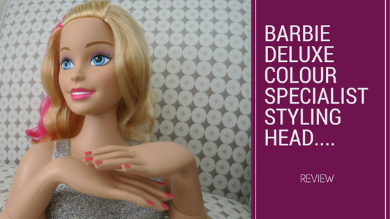 Becoming A Stylist With Barbie Deluxe Styling Head…