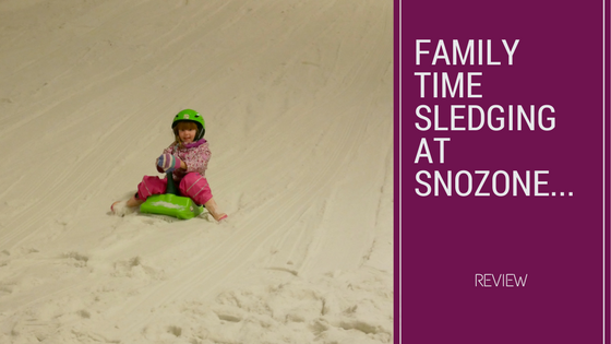Family Time Sledging At Snozone…