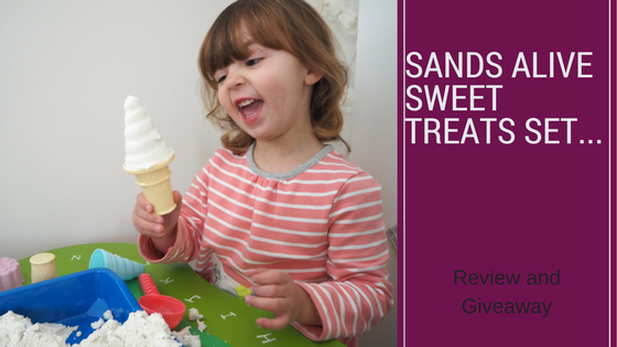 Having Fun With Sands Alive Sweet Treats…