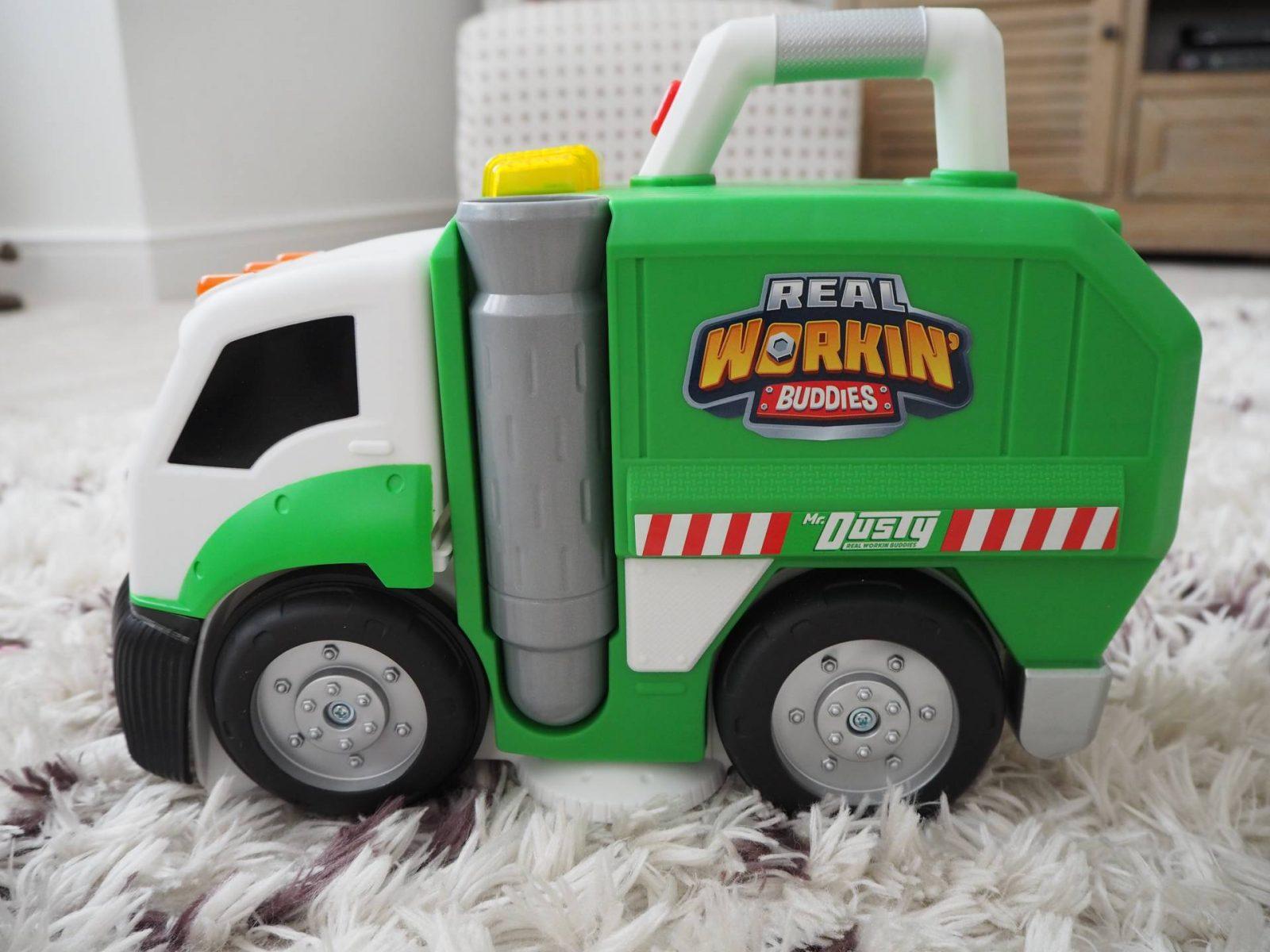 Meet Dusty The Garbage Truck…