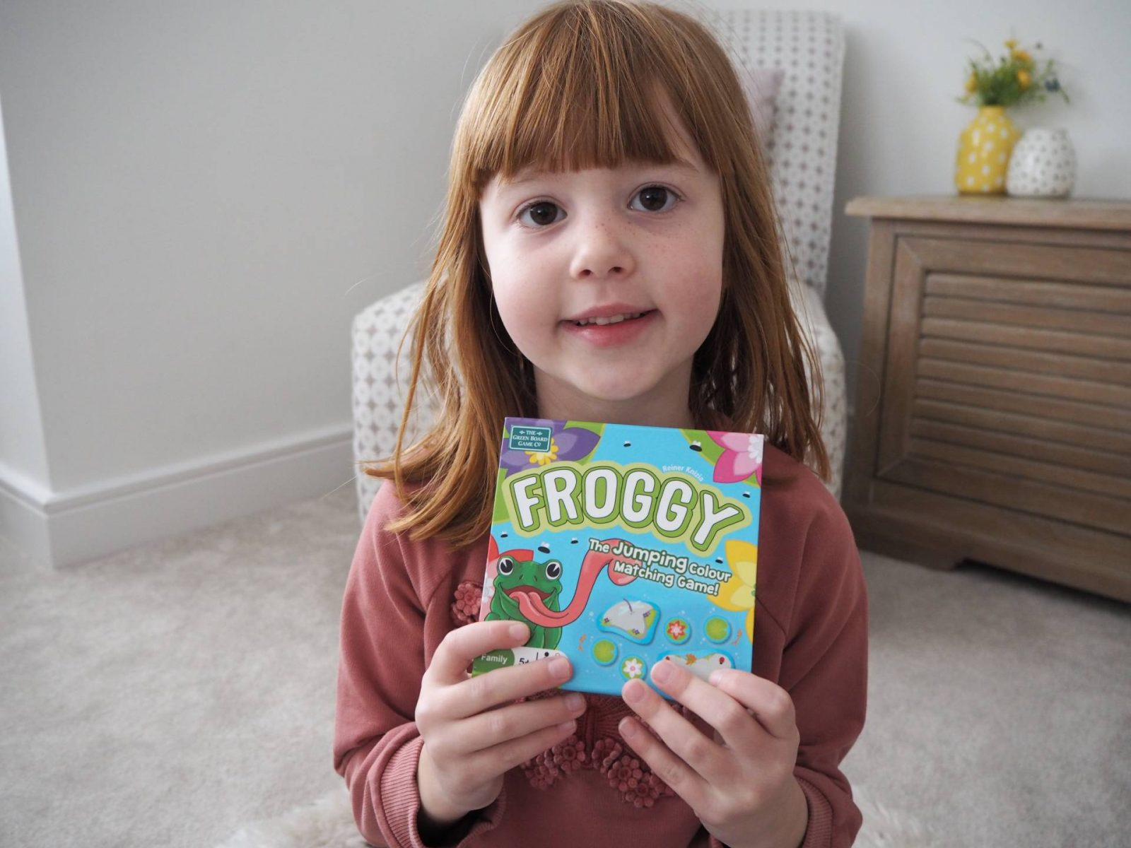 Froggy…The Jumping Matching Game!