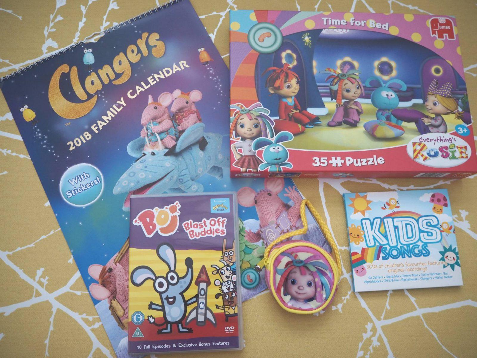 Kids Songs CD and A CBeebies Bundle Of Goodies…