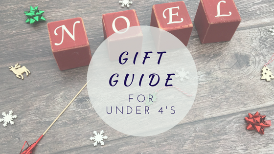 Gift Guide For Under 4's…