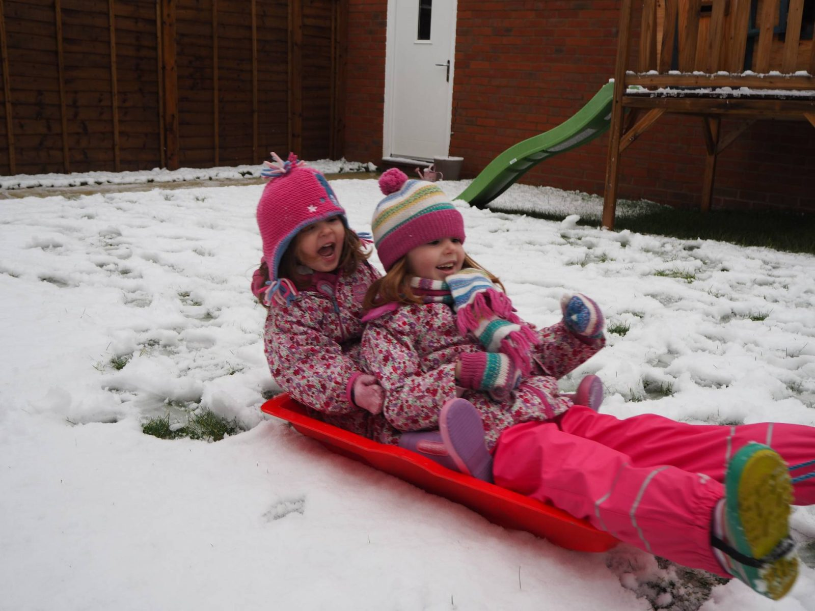 A Snow Day…The Perfect End To Christmas!