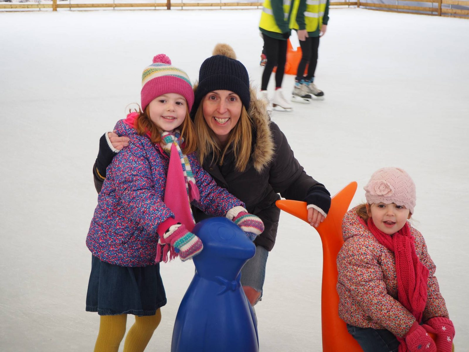 Family Ice Skating…The Ordinary Moments