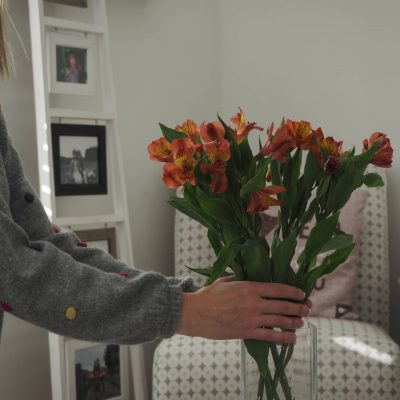Fresh Flowers…The Ordinary Moments
