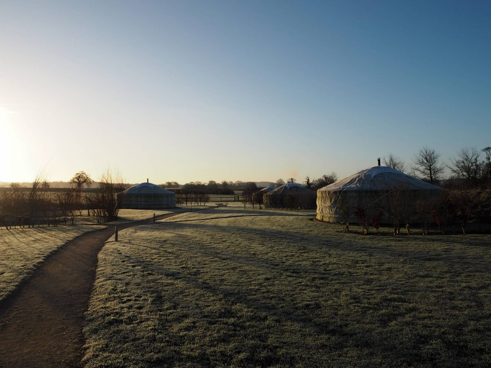 Glamping In The Winter…Caalm Camp, Dorset!
