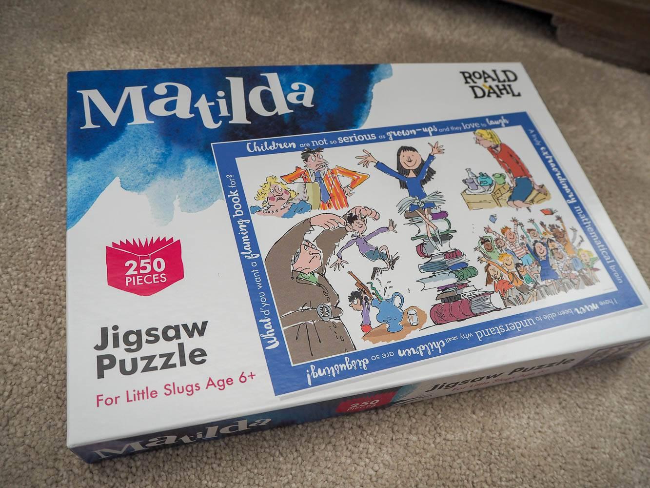 A Love Of Jigsaw Puzzles…Roald Dahl Matilda – Plus a Giveaway!