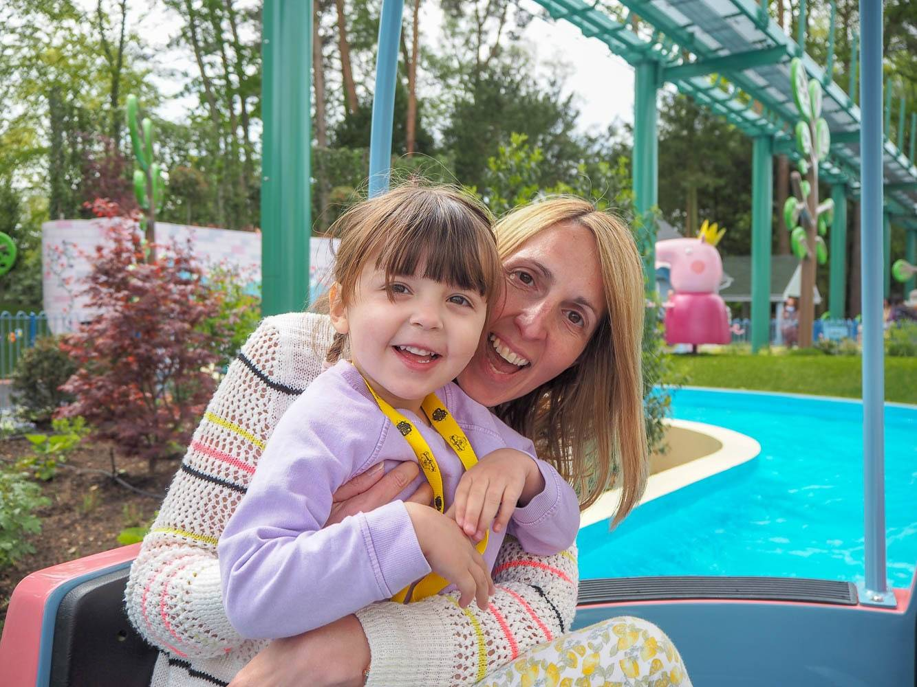 Introducing The New Rides At Peppa Pig World, Paultons Park…