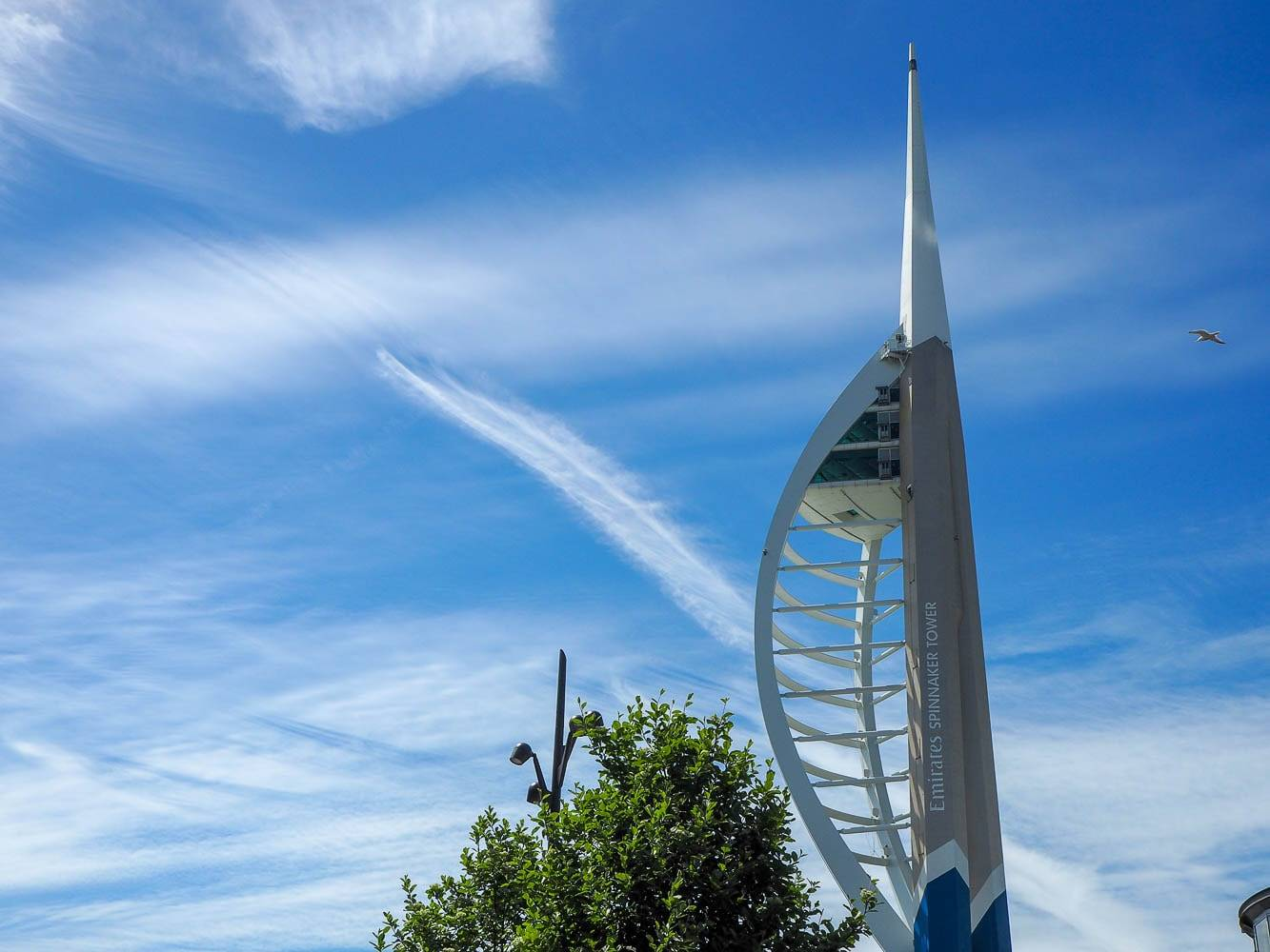 Climbing To The Top Of The Spinnaker Tower…