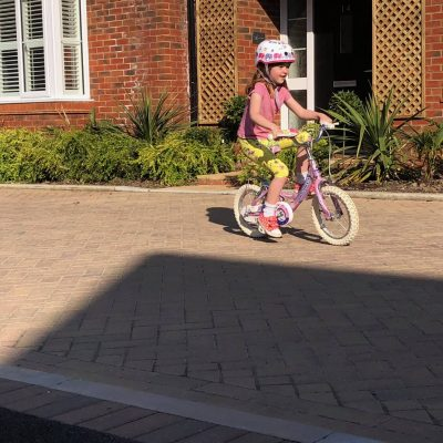 Riding A Bike…The Ordinary Moments