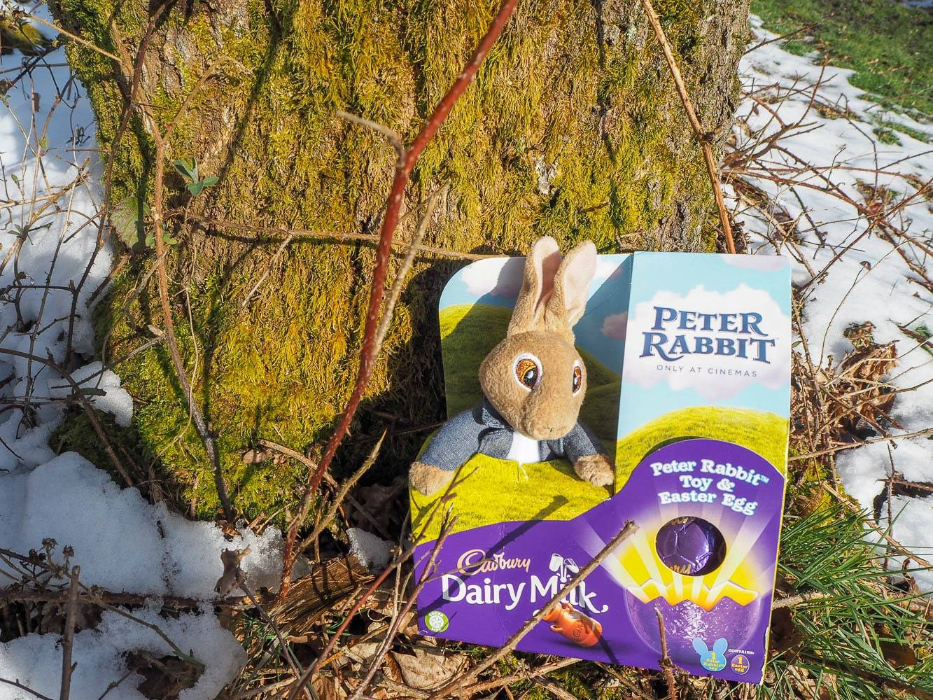 A Snowy Easter Egg Hunt With Cadbury…