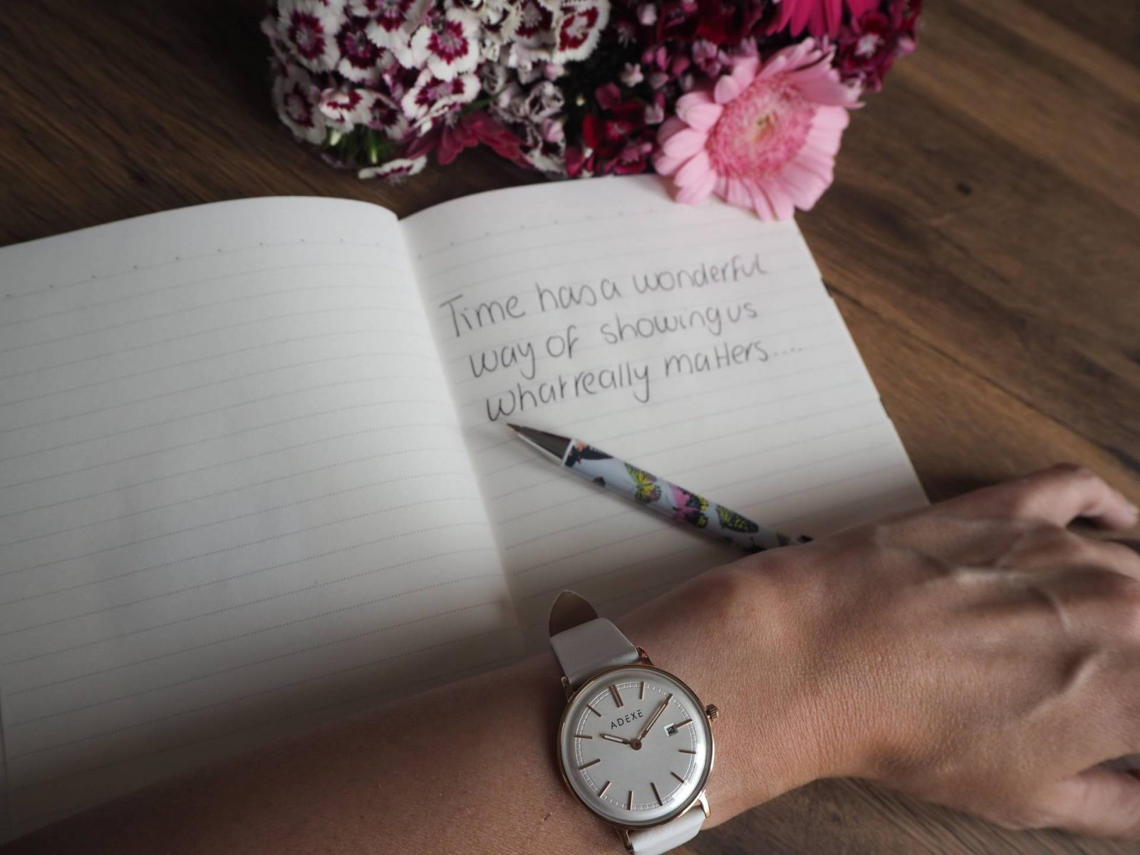 I'm Always On Time Thanks To My ADEXE Watch…Plus A Giveaway!