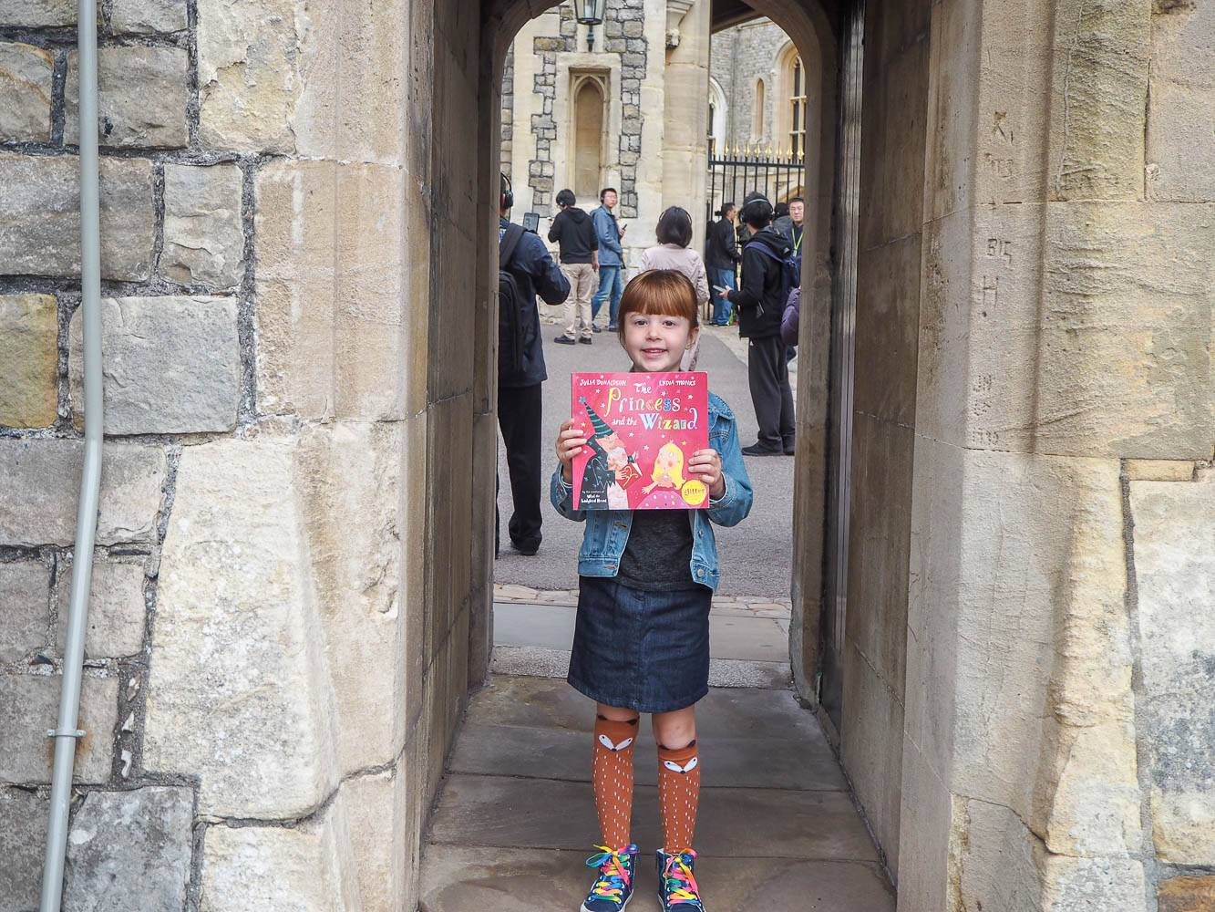 Bringing Our Book To Life With A Trip To Windsor Castle…#TimetoRead – PLUS WIN!