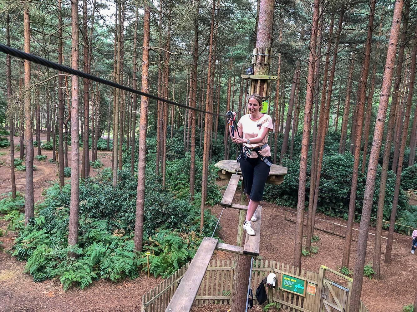 Being Brave…Go Ape Tree Top Adventure, Bracknell!