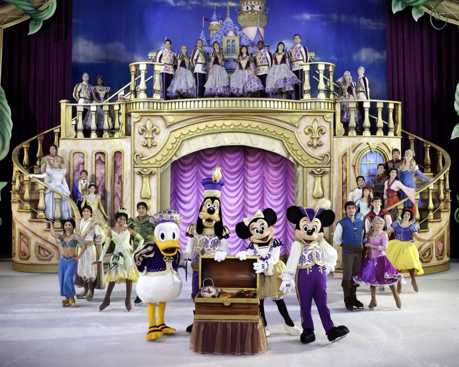 Introducing The Wonderful World Of Disney On Ice…