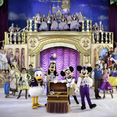 Introducing The Wonderful World Of Disney On Ice…