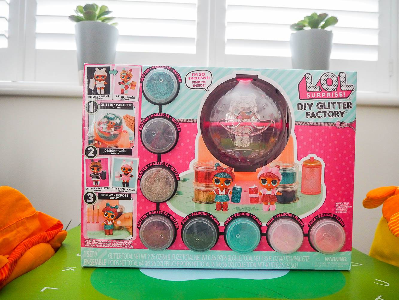 Introducing Lol Surprise Diy Glitter Factory Dear Bear And Beany