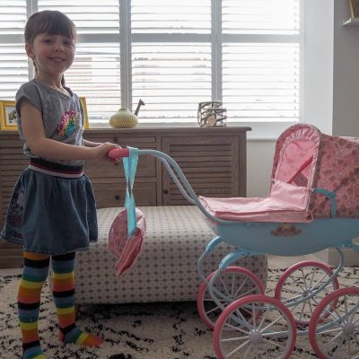 Being Like Mummy With Baby Annabell Carriage Pram…