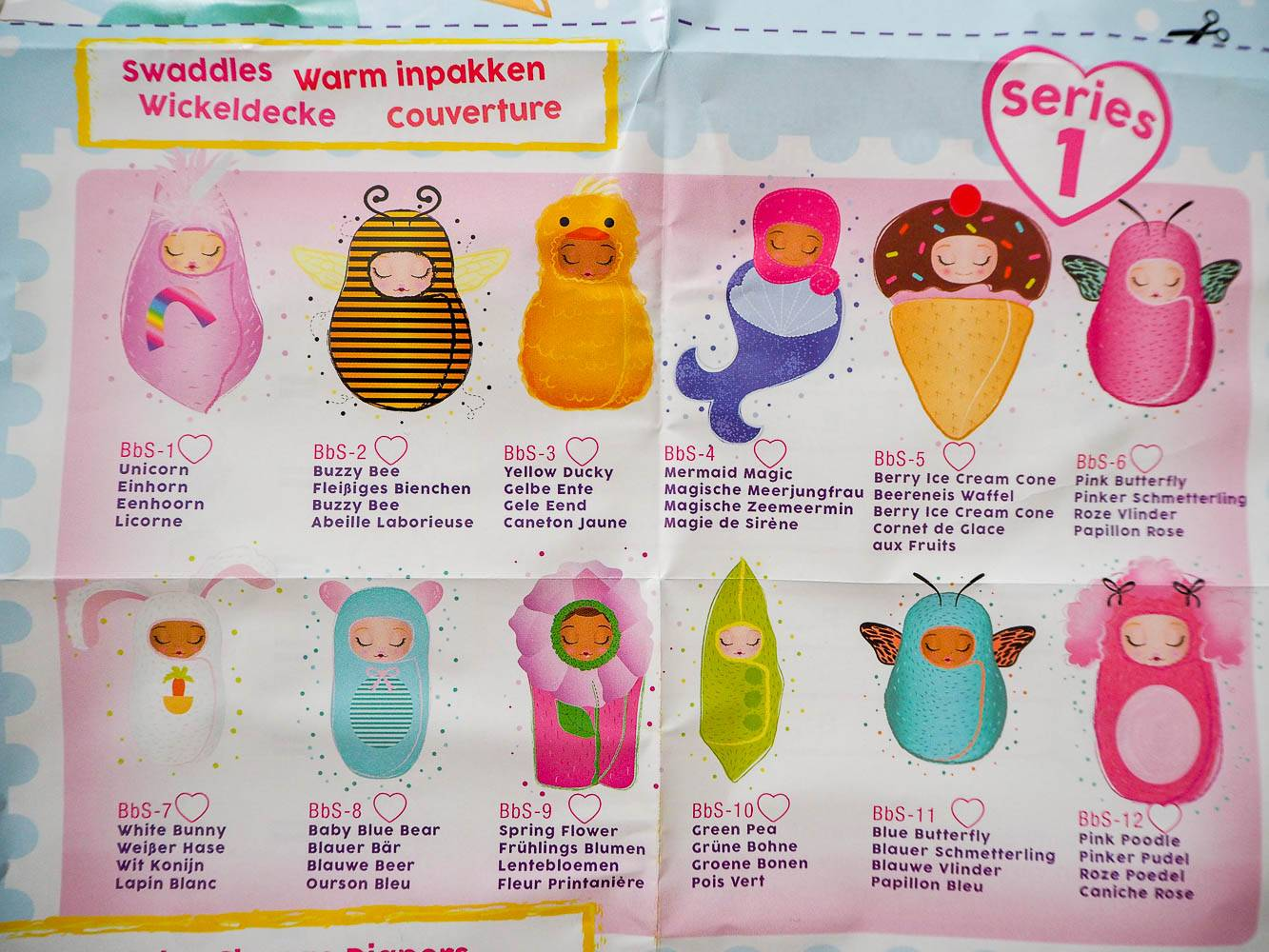 Baby Born Surprise Spring Flower Figure BbS-9 No Package