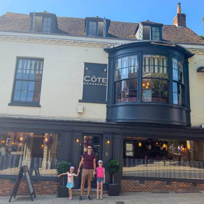 A Family Meal at Cote Brasserie…